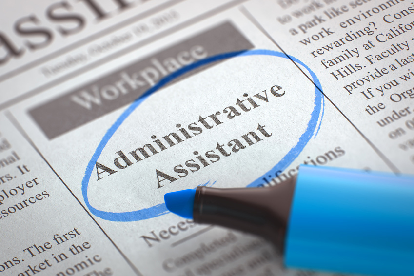 Now Hiring Administrative Assistant